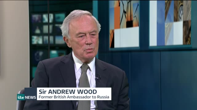 Trump criticises US security services in extraordinary press conference ENGLAND London GIR INT Sir Andrew Wood STUDIO interview SOT