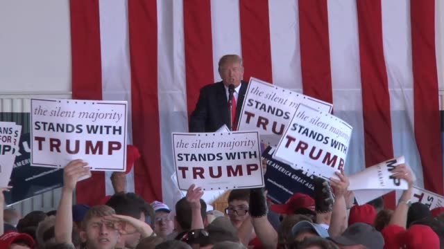 Trump speaks to an Omaha crowd and mentions Sarah Root who was killed after being rearended by a drunk driving illegal immigrant Trump also speaks...