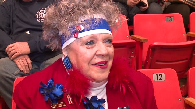 WGN Trump Supporter at Rally Explains Why She Supports Donald Trump for President at the UIC Pavilion in Chicago on March 11 2016