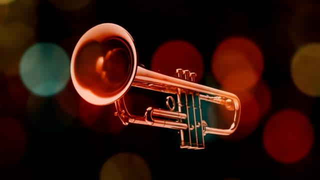 stockvideo's en b-roll-footage met trumpet - messing about