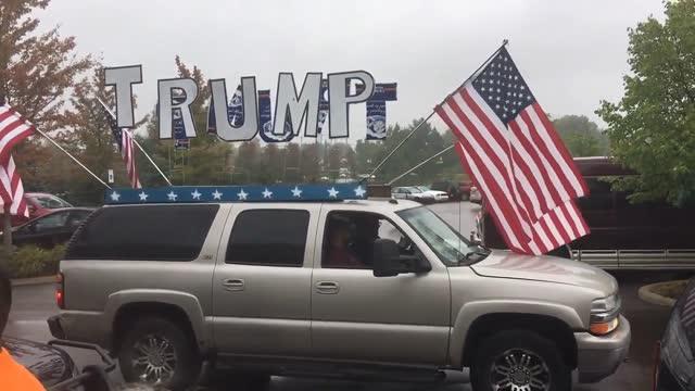 vídeos y material grabado en eventos de stock de trump's political journey continues. - venganza