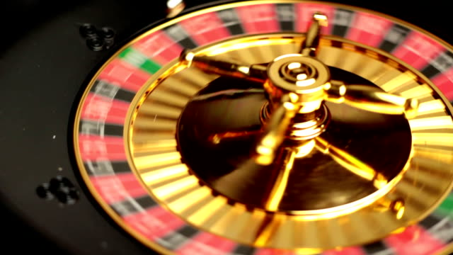 try your luck - roulette stock videos and b-roll footage