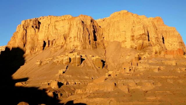 tsaparang sunrise 、チベットや中国 - ラジコン点の映像素材/bロール