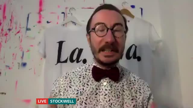 shirts inspired by tv drama raising money for hiv charity the terrence higgins trust; england: london: gir: int philip normal 2 way interview from... - t shirt stock videos & royalty-free footage