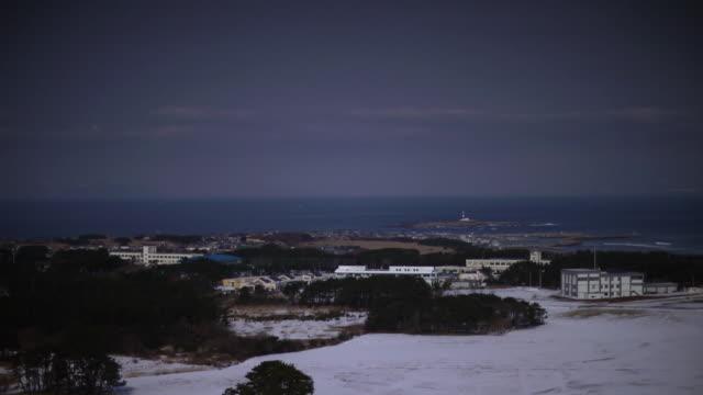 ls, tsugaru strait from oma, aomori, japan - aomori prefecture stock videos & royalty-free footage