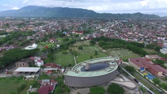 Tsunami Museum Aceh Indonesia.