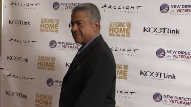 Tucker Smallwood at The Cast Of Lifetime Television's Army Wives Reunites For Searching For Home Coming Back From War at Arclight Theatre in Sherman...