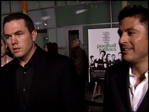 tucker tooley at the 'poolhall junkies' premiere at arclight cinemas in hollywood, california on february 19, 2003. - tucker stock videos & royalty-free footage