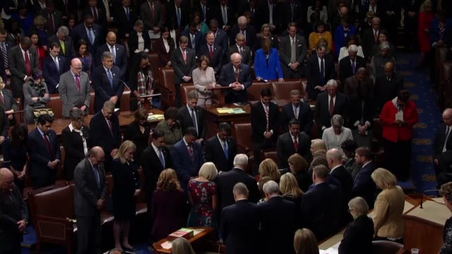 Tucson Arizona area Congresswoman Ann Kirkpatrick obtains a moment of silence in the House of Representatives on the eighth anniversary of a mass...