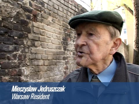 tuesday marks the 65th anniversary of the warsaw ghetto uprising israeli president shimon peres will attend ceremonies marking the insurrection when... - ghetto video stock e b–roll