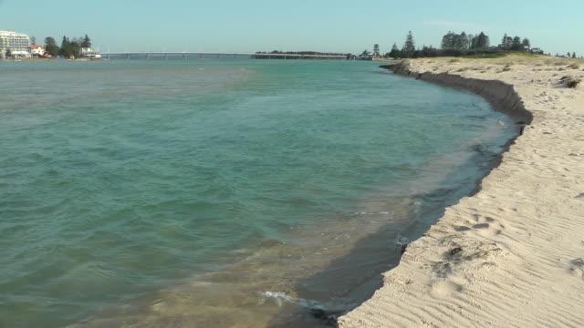 tugarah lakes - entrance stock videos & royalty-free footage