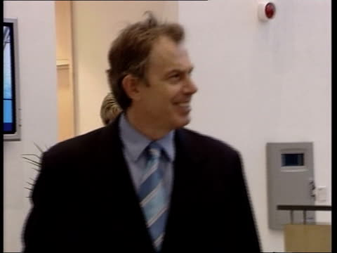 Government cajoling ministers LIB Blair along on visit