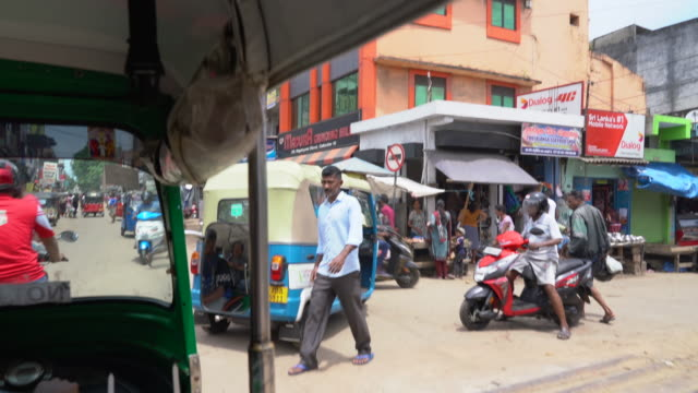 4k tuk tuk tour in colombo and galle, sri lanka - tricycle stock videos & royalty-free footage