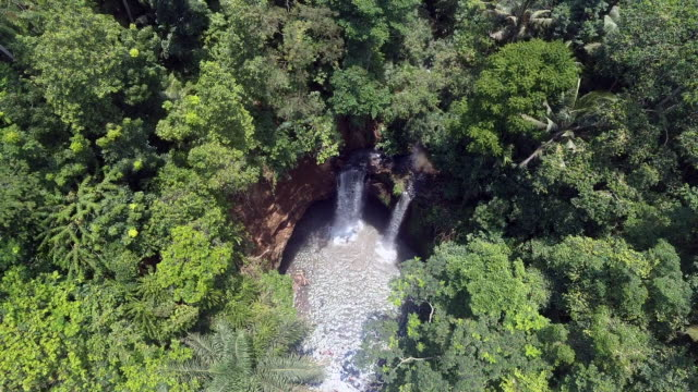 Tukad Cepung waterfall drone shoots