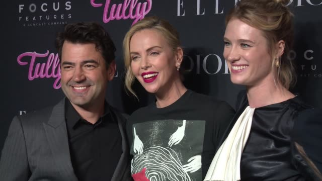 CHYRON – 'Tully' New York Special Screening Presented by Elle Dior Focus Features at the Whitby Hotel on May 03 2018 in New York City