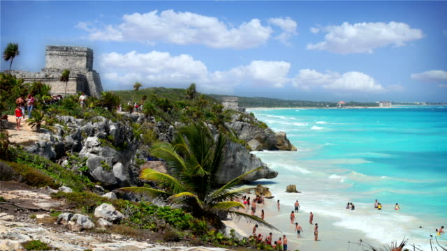 tulum, mexico - mayan stock videos and b-roll footage