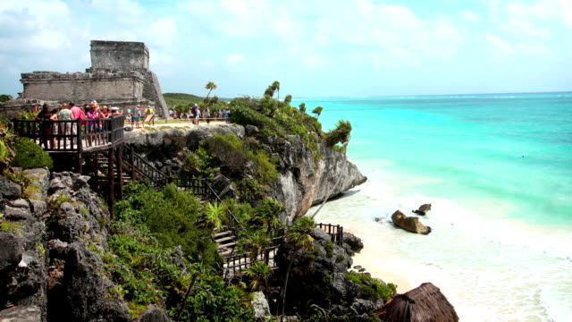 tulum, mexico - tulum mexico stock videos & royalty-free footage