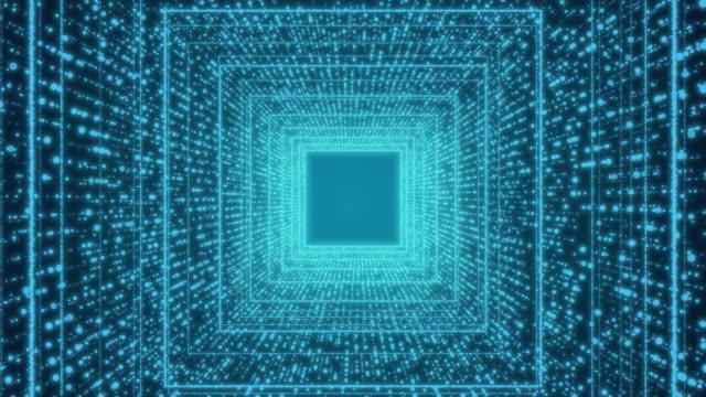 vidéos et rushes de tutel futuriste ordinateur numérique résumé de fond pour la science et la technologie - infographie