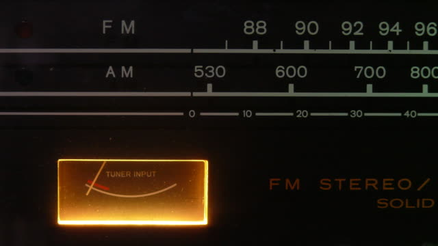 radiodeck - historisch stock-videos und b-roll-filmmaterial