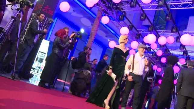 tunisia kicked off the 29th carthage film festival under tight security just days after a suicide blast rocked the centre of the capital - carthage tunisia stock videos & royalty-free footage