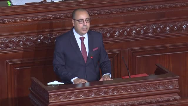 tunisian lawmakers are set to hold the vote of confidence for a new government for the third time in less than a year, an instability undermining the... - tunis stock videos & royalty-free footage