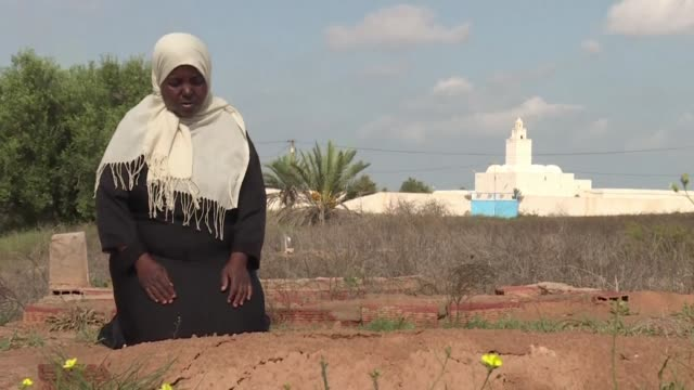 tunisian nadia borji says she wants to be considered as equal but fears she will end up buried in her town's so called slaves cemetery because she is... - tunisia stock videos & royalty-free footage