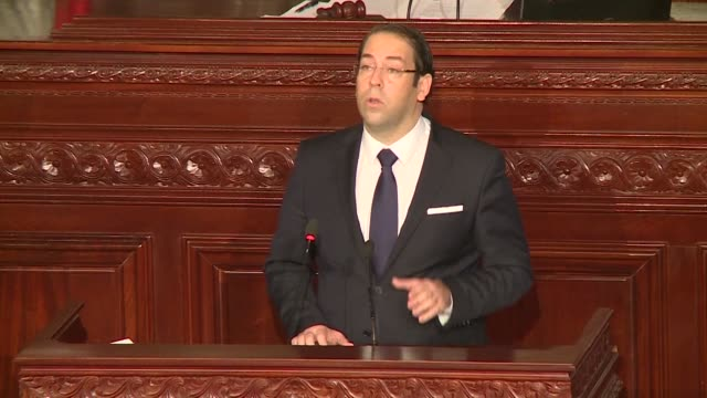 Tunisian Prime minister Youssef Chahed made a speech in front of parliament on Thursday saying the government will pursue its fight against...