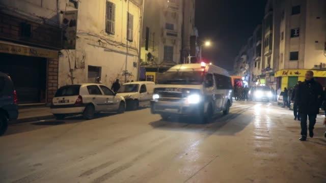 Tunisian soccer fans have clashed with police in the capital two days after a match was canceled amid nationwide economic protests Interior Ministry...