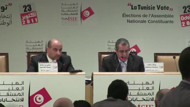 tunisia's islamist ennahda party started coalition talks with leftist groups for a new executive tuesday as early results showed it dominating the... - organised group stock videos & royalty-free footage