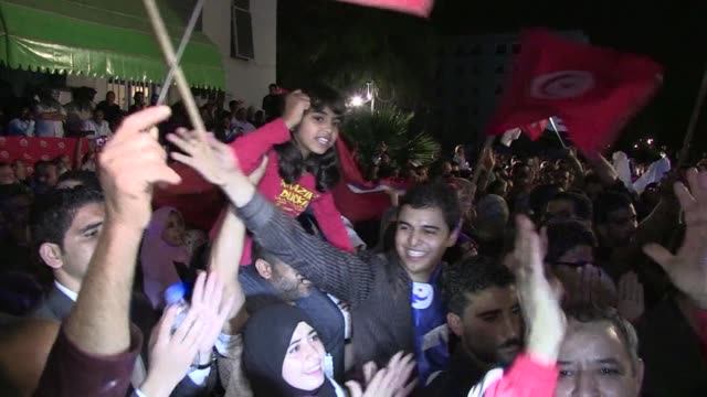 tunisia's islamist ennahda party took the lead in early official results tuesday with 15 of 39 seats in five polling districts including the cities... - organised group stock videos & royalty-free footage