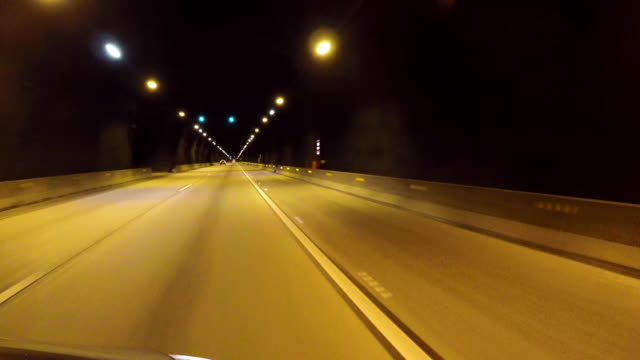 4k tunnel drive - loopable moving image stock videos & royalty-free footage