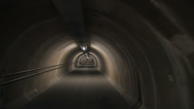 tunnel - bomb shelter stock videos & royalty-free footage
