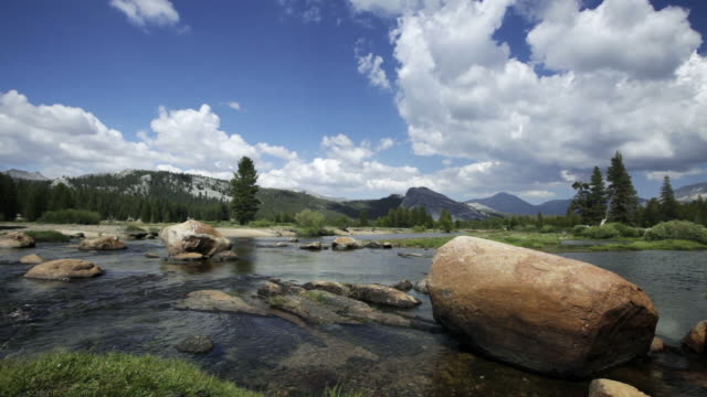 tuolumne river - yosemite national park stock videos and b-roll footage