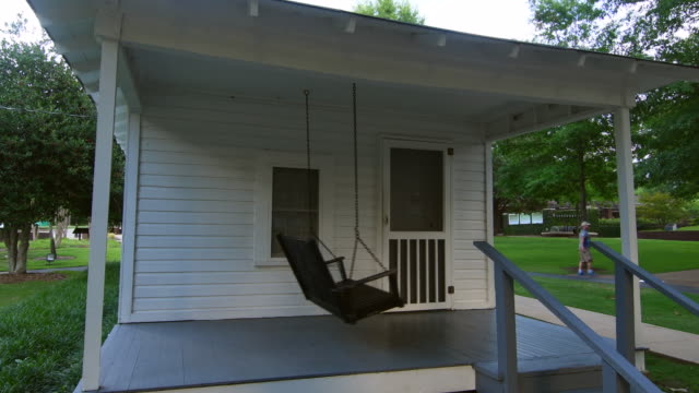 Tupelo Mississippi Elvis Presley birth home and porch in small town of the King of Pop Elvis