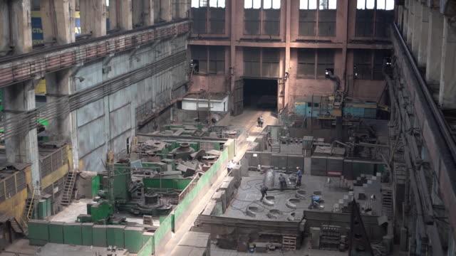 turbine manufacture in kharkiv ukraine on friday june 22 2018 - turbine stock videos & royalty-free footage