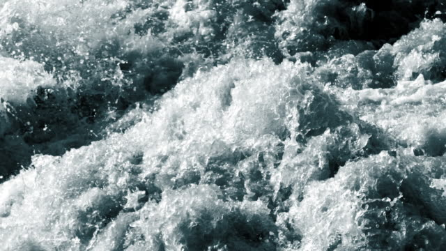 turbulent water surface - rapid stock videos & royalty-free footage