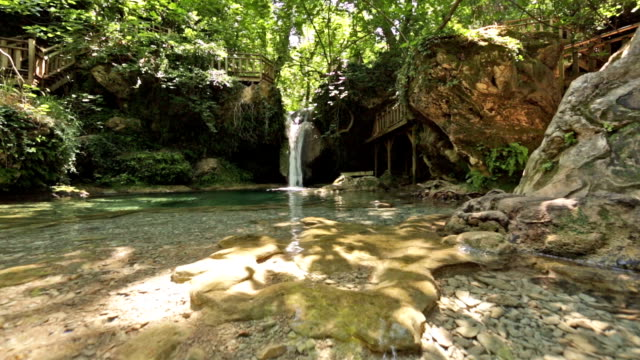 turgut waterfall, marmaris, turkey - marmaris stock videos & royalty-free footage