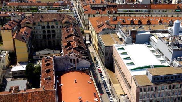 turin city view - italian currency stock videos & royalty-free footage