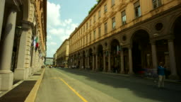 Turin Via Roma Streets