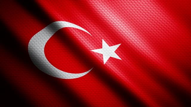 Turkey Flag 4K