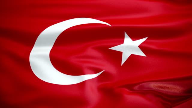 vidéos et rushes de drapeau turc animation - drapeau turc
