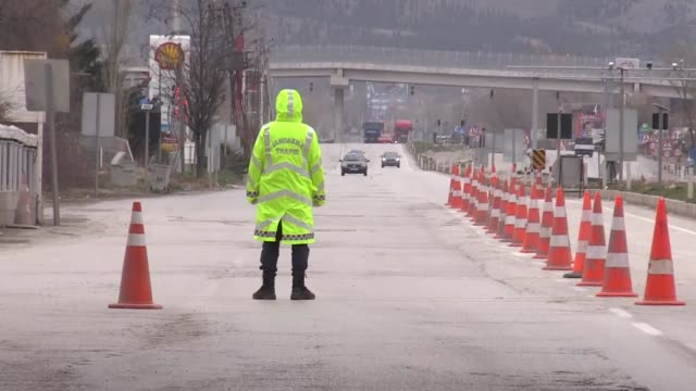 turkey has tightened measures to ensure the partial curfew imposed to slow the spread of coronavirus is enforced the country decided to shut down the... - new age stock videos & royalty-free footage