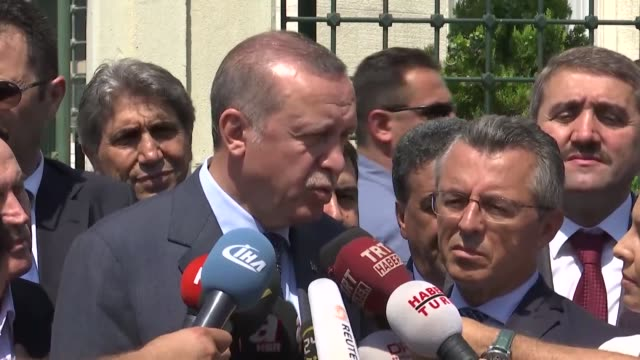 "turkey hopes that the rising u.s-north korea tension will not lead to a nuclear clash, president recep tayyip erdogan said friday. ""we hope that the... - nuclear weapon stock videos & royalty-free footage"