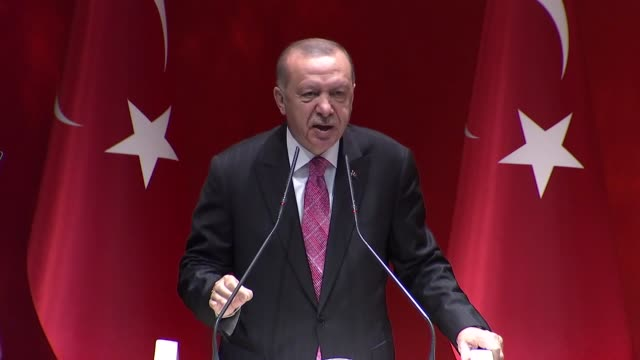 turkey is always ready to resolve the eastern mediterranean issue through dialogue on an equitable basis, turkish president recep tayyip erdogan said... - vessel part stock videos & royalty-free footage