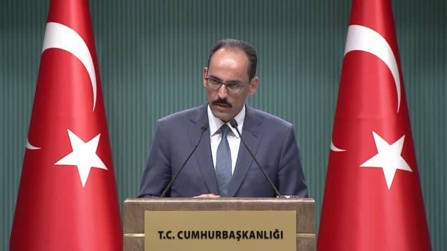"turkey is not a country that can be easily dispensed with said the turkish presidential spokesman on tuesday ""everyone should know it may be the [f35... - legal defense stock videos & royalty-free footage"