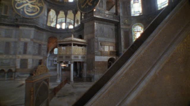 CS, Turkey, Istanbul, Hagia Sophia interior