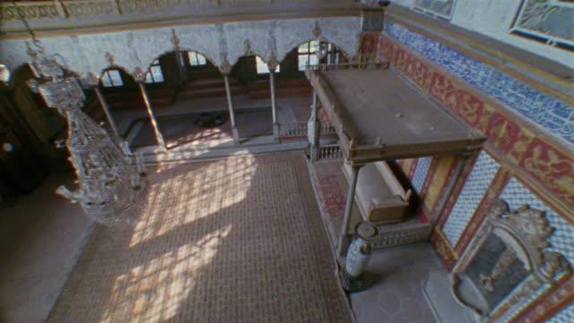 cs, ha, la, turkey, istanbul, topkapi palace, imperial hall - topkapi palace stock videos and b-roll footage
