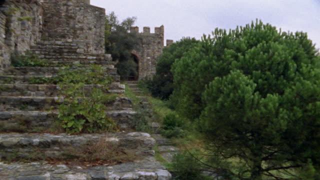 vidéos et rushes de ms, tu, turkey, istanbul, walls of constantinople - turquie