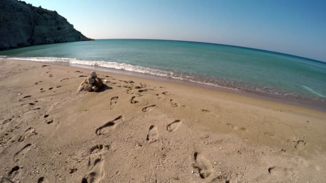 turkey izmir cesme beach - byakkaya stock videos and b-roll footage