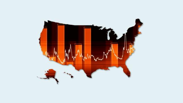 vídeos y material grabado en eventos de stock de mapa de turquía de 4k y el fondo financiero-economía - edificio financiero